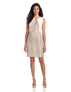 Calvin Klein Women's Seamed Shift Dress