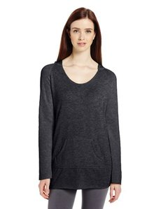Calvin Klein Performance Women's Icy Wash Hooded Fleece Top