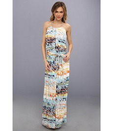 Michael Stars Kaleidoscope Print Maxi Dress