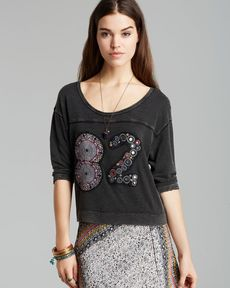 Free People Tee - Varsity Palm