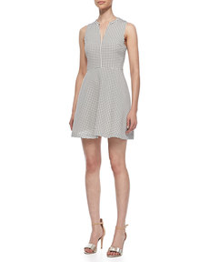 Joie Julie Ann Polka-Dot Dress