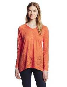Jones New York Women's V-Neck Hoodie A-Line Body
