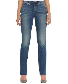 Levi's Petite Straight-Leg Jeans, Golden Coast Wash