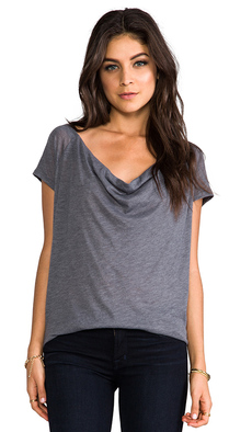 Soft Joie Imogen Top in Gray