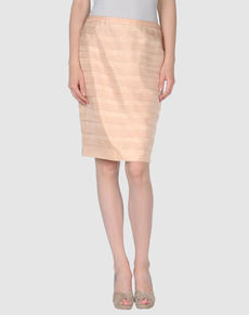 CARMEN MARC VALVO - Knee length skirt
