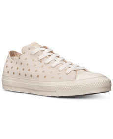 Converse Women's Chuck Taylor Ox Printed Suede Casual Shoes from Finish Line