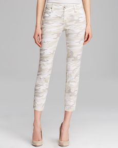 Sanctuary Camo Print Skinny Pants