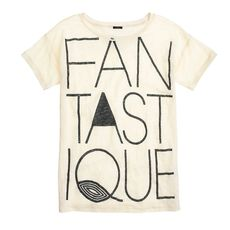 Linen tee in fantastique