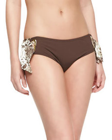 MICHAEL Michael Kors Tie-Side Hipster Swim Bottom