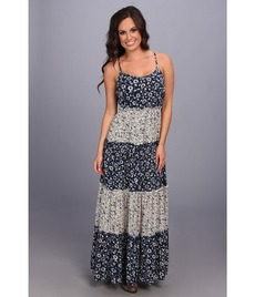 Lucky Brand Tiered Maxi Dress