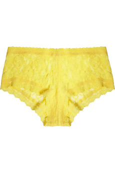 Hanky Panky Stretch-lace boy shorts