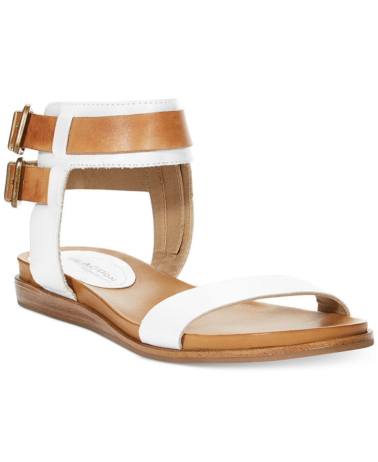 Kenneth Cole Reaction Open Net Block Heel Sandals