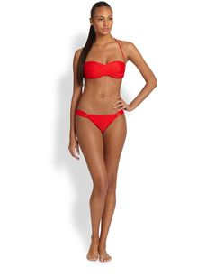 Shoshanna Looped-Sides Bikini Bottom