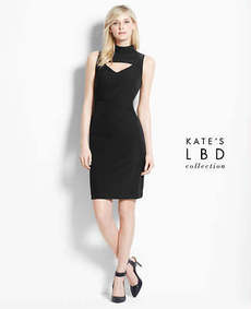 Petite The LBD Collection by Kate Hudson Camera Ready Dress