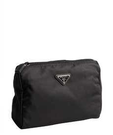 Prada black nylon 'Necessaire' cosmetic case