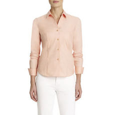 Non-Iron, Easy-Care Fitted Shirt (Plus)