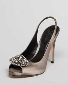 Delman Slingback Pumps - Aura Evening