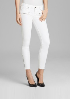 Paige Denim Jeans - Jane Zip Ultra Skinny in Optic White