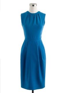 Keyhole dress in Super 120s
