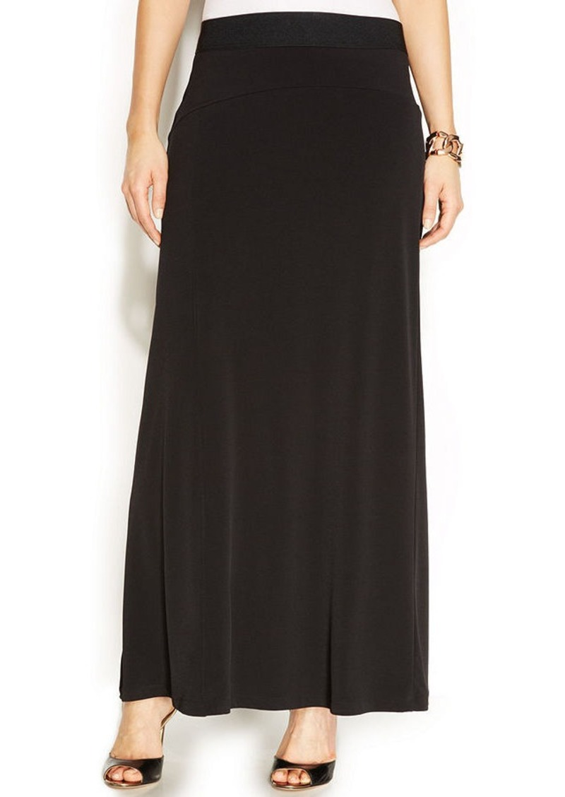 alfani alfani stretch knit maxi skirt skirts shop it to me