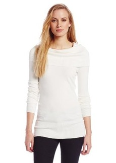 French Connection Women's Tunic Cowl-Neck Sweater