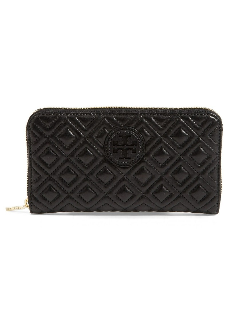 tory burch tory burch 39 marion 39 quilted wallet sizes all sizes shop it to me all sales in. Black Bedroom Furniture Sets. Home Design Ideas