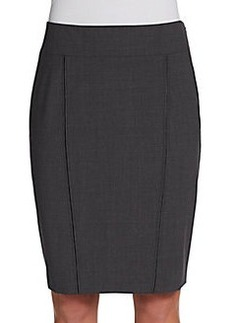 Elie Tahari Reed Seamed Pencil Skirt