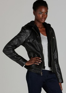 Marc New York Leather Jacket - Vintage Wash