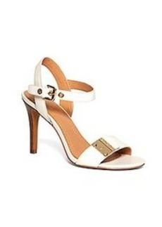Calfskin High-Heeled Sandals