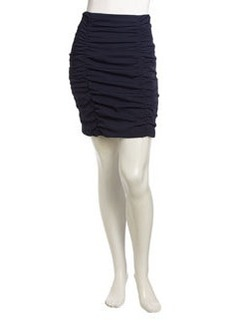 Nanette Lepore Scrunch Pencil Skirt, Navy