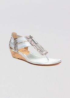 Donald J Pliner Thong Demiwedge Sandals - Dori