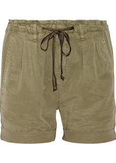 AG Jeans Paper Bag twill shorts