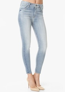 """The Slim Illusion High Waist Ankle Skinny in Faded Blue (28"""" Inseam)"""