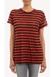 Proenza Schouler Mixed-Stripe T-shirt