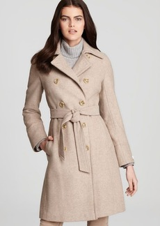 Calvin Klein Double Breasted Belted Trench Coat