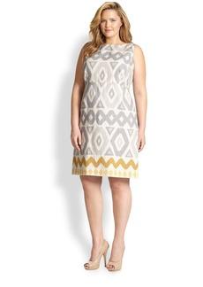 Lafayette 148 New York, Sizes 14-24 Linen Jeneca Dress