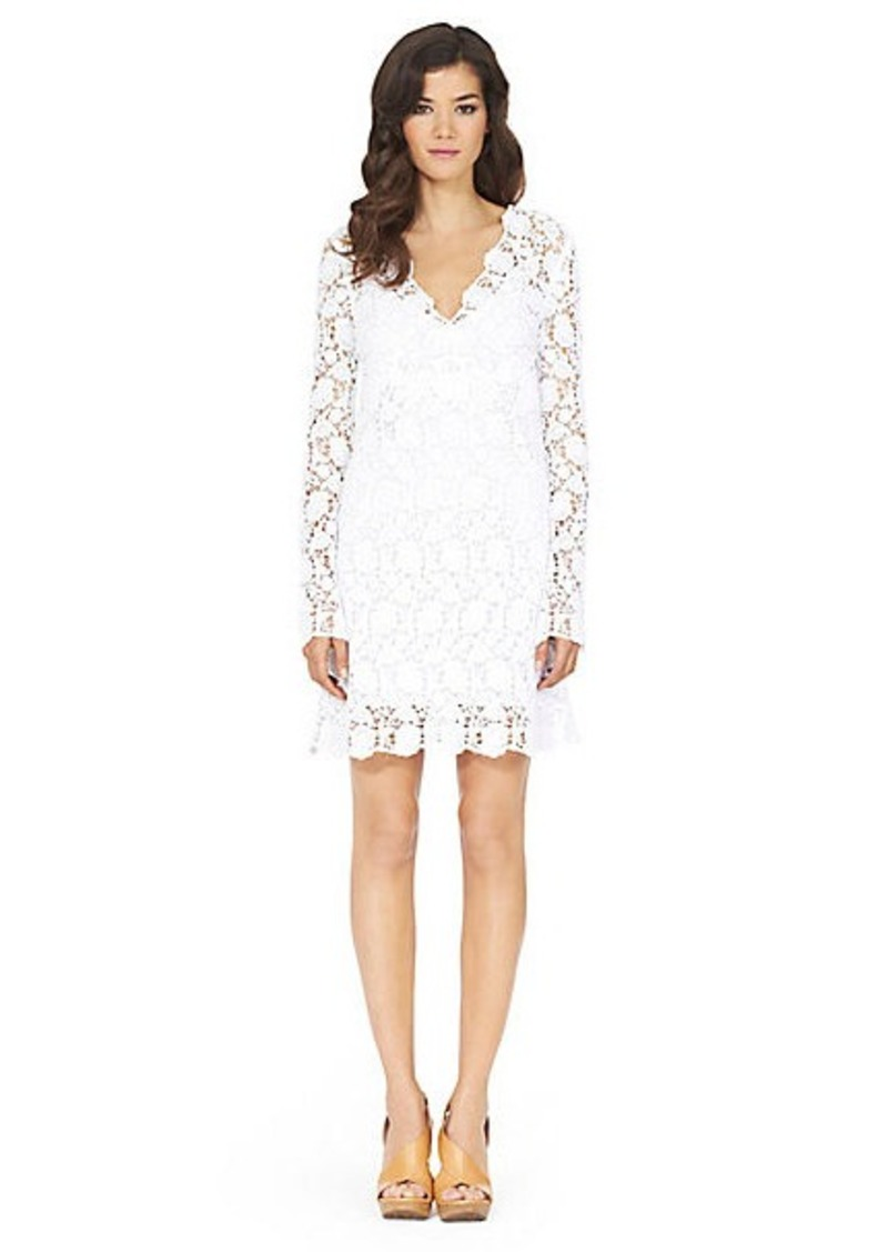 Hippolyte Flower Lace Dress