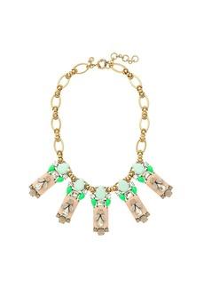 Polynesian stone necklace