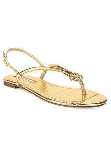 INC International Concepts Women's Moirah Flat Thong Sandals