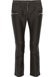 3.1 Phillip Lim Ribbed mid-rise straight-leg jeans