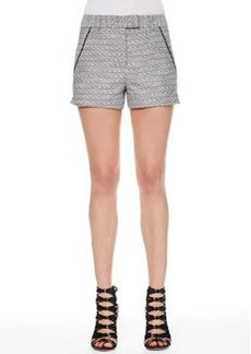 Jason Wu Tweed Piped-Pocket Shorts