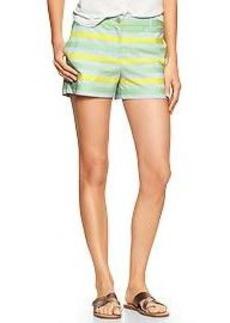Sunkissed stripe shorts