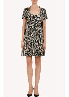 Proenza Schouler Abstract-Print Silk Chiffon Dress