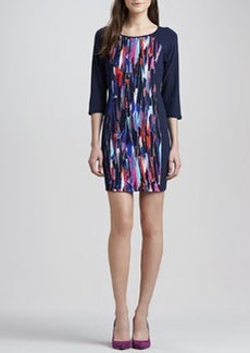 Ella Moss Mulberry Stained Glass Shift Dress