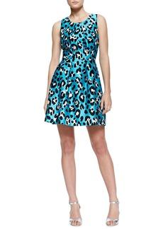 Michael Kors Printed Bell Dress
