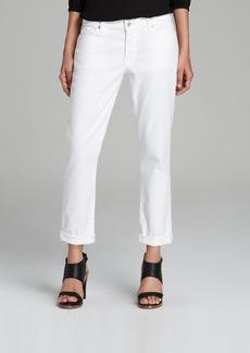 7 For All Mankind Jeans - Josefina Skinny Boyfriend in Clean White