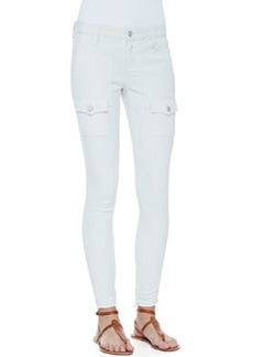 Joie So Real Cargo-Pocket Skinny Jeans, Fog