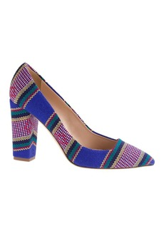 Collection Ava summer stripe pumps