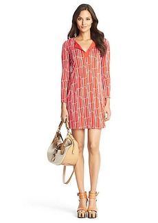 New Reina Two Silk Jersey Tunic Dress