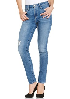Levi's® Juniors' High Rise Skinny Jeans